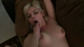 Image: Ugly blonde slut Alice Frost gets nailed hard in a missionary position in a POV video