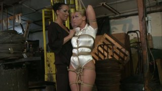 Kathia Nobili gets tortured by Mandy Bright image