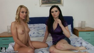 Angell Summers agrees to try a fisting action image