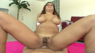 Image: Rubbing hairy pussy Francesca Le rides Mark Wood's stiff cock