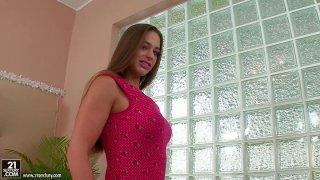 Heavenly hot chick Cathy Heaven exposes her fresh goodies image