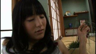Magnetizing Japanese whore Yumi Ishikawa poses on a cam showing her skinny body image