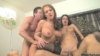 Image: foursome crazy fuck with Nikki Daniels