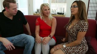 Too spoiled housewife Francesca Le has a threesome with Mark_Wood & Kimmy Olsen image