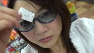 Funny chick from Japan Hitomi Aizawa gonna be a pron star image