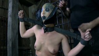 Loose soaking snatch of Elise Graves gets pleased BDSM way image