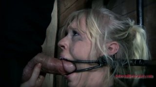Image: All naked chick with a gag in mouth Sarah Jane Ceylon is a fan of BDSM