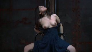 Dirty bitch Lorna loves playing rough BDSM games image
