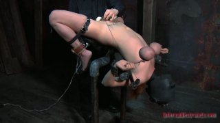 Gonzo_slut_Ashley_Graham_is_tortured_by_a_powerful_sex_machine_and_finally_satisfied image