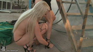 Gorgeous chick Ary tickles the fancy of her horny female friend image