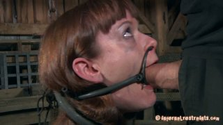 Mature guy tries different masks and brackets on Hazel Hypnotic image