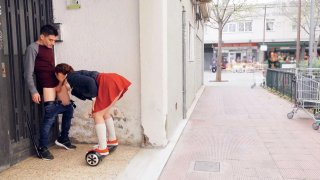Image: Pamela Sanchez and her Sex Segway Roam the Streets