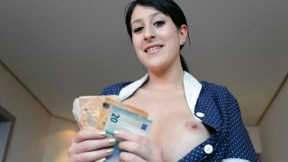Image: Timid maid bribed into giving extra service