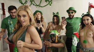 Image: Saint Patricks day sex party