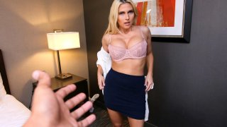 Stepmom Christie Stevens wants to Sleep and willing to get for it image