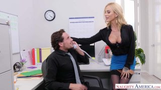 Get Laid And Getting Lei'd: Sarah Jessie Works It At Work image