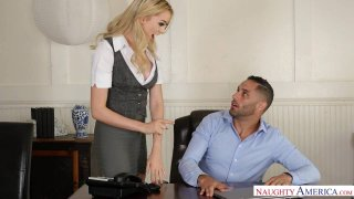 Horny Anny Aurora Experiences_Her Co-Worker's_Porn Star Past image