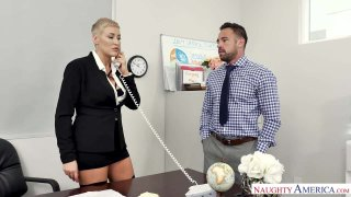 Horny Boss Ryan Keely Takes a Dirty Deed For a Misdeed image