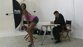 Image: Black girl audition
