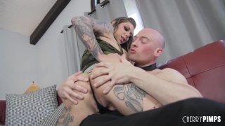 Big Tit Blonde Karma Rx Craves To Be Fucked Hard In Her Shaved Pussy image