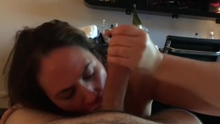 Hotwife Carrie Corrupted Hotel Cum Slut Sucking A Big Cock #carriecorrupted image