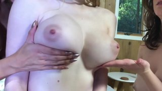 Bunny Colby's Tits in Slow Motion. image