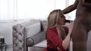 Goddess Julia Ann_stuffing pussy with young BBC image