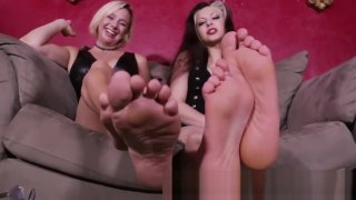 Goddess Brianna and friend soles image