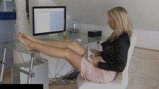 Madeleine sexy barefoot secretary - allyoucanfeet - pashto sexi vide image