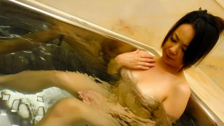 Naughty Asian Girl Fingers Her Pussy In The Bathtub - NipponTeen image