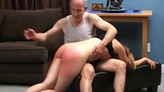 Teen spanked, fingered_and pussy_spanked image