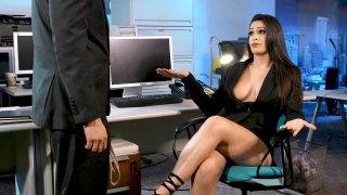 Employee suggests Bondage Sex with Boss image