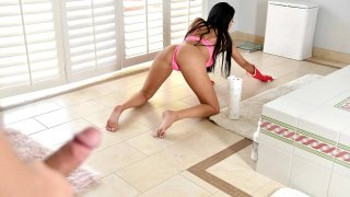 MILF Anissa Kate & Her Pussy visits Stepson! image