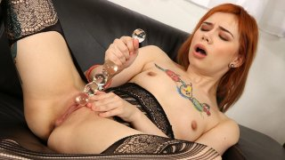 Solo Teen wants to Use ALL the SexToys! image
