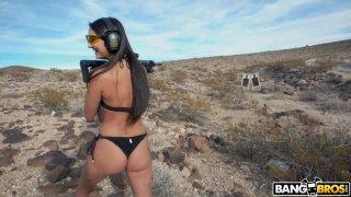 Shooting With Sexy_Eliza Ibarra image