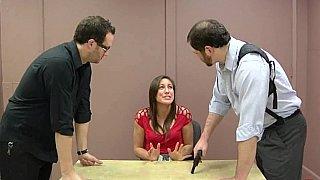 X-rated interrogation image