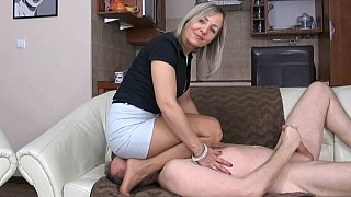Image: Grandma's femdom facesitting