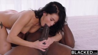 BLACKED Megan Rain Meets Mandingo image