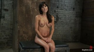 Image: Sexy MILF is bound down, suffers hard caning & foot tortureextreme nipple pain & brutal fisting!