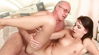 Grandpas and Teens Anal Fuck Compilation image