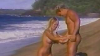 Kascha Busty BombShell Having Sex On The Beach image