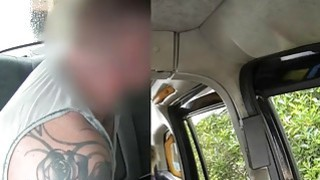 Huge boobs amateur blonde emo pounded by fraud driver image