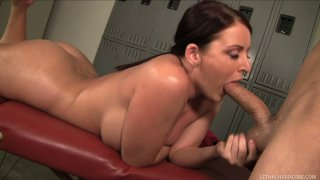 Sophie Dee enjoys juicy dick of Will Powers and fucks doggy style image