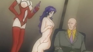 Hentai babe gets fucked by master image