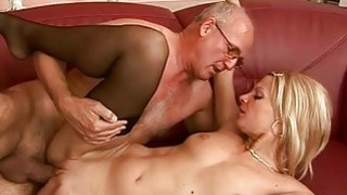 Grandpas and Nasty Teens Sex Compilation image
