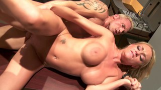 Paige Ashley rammed hard at the office image