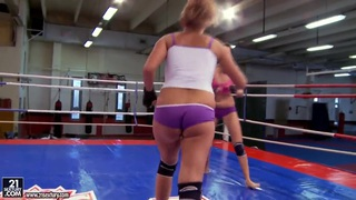 Barbie Black likes to fight and fuck with her slutty friend image