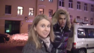 Marika in public toilet fuck video showing a slutty bitch image