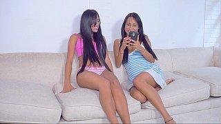 Image: Amateur girlfriends touch & tease
