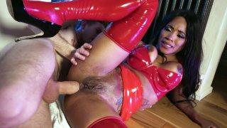 Kiki Minaj got her anus destroyed on the floor image